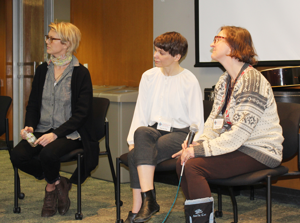 Sara Pajunen, Maja Heurling, and Kari Tauring discuss innovation and tradition in their own musics