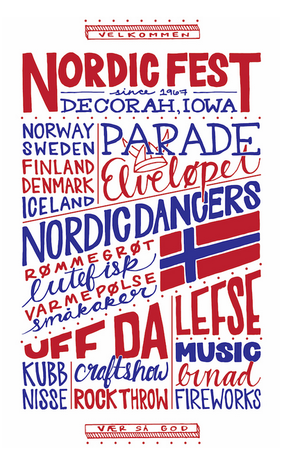 Nordic Fest 2018 Poster