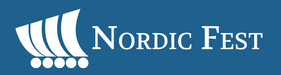 Nordic Fest logo with Viking ship
