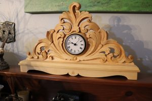 Lowell Torkelsson's acanthus clock